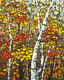 """Autumn Birch"""