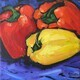Fruit and Vegetable Series 1 - acrylic - 6x6